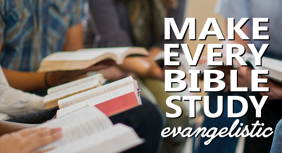 How To Do Personal Evangelism - net Bible Study